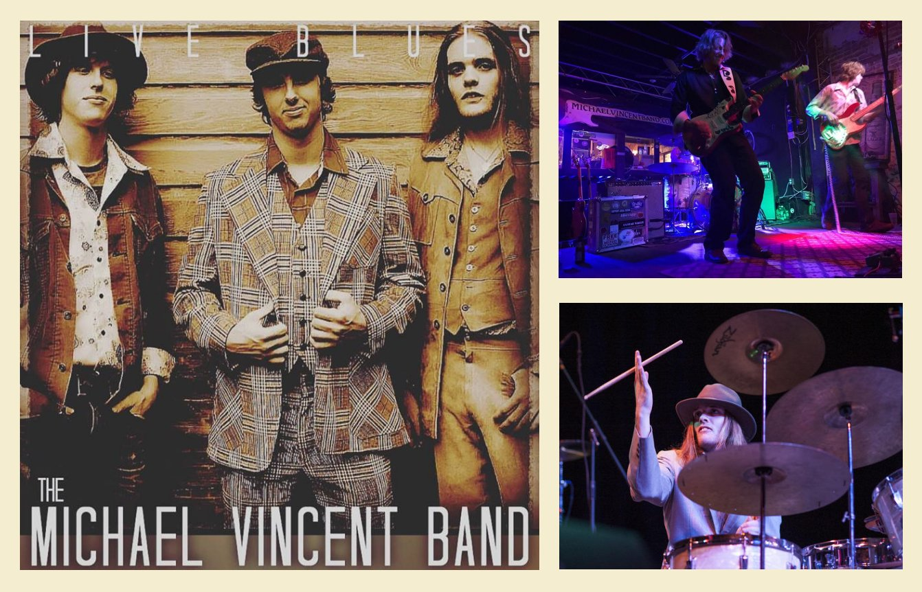 Michael Vincent Band, Delta Blues Singers, New Hampshire Blues Bands, Gulf Coast Blues Bands, East Coast Blues Artists, Gulf Coast Blues Artists